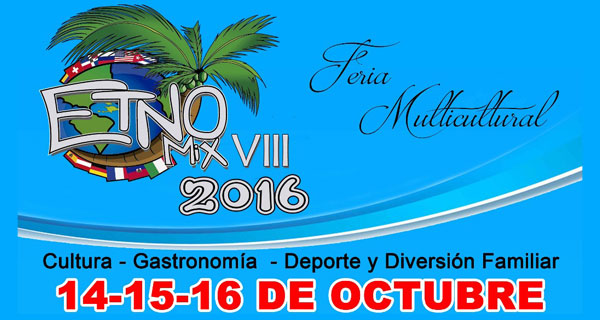 Affiche Etno-Mix'16, Las Terrenas