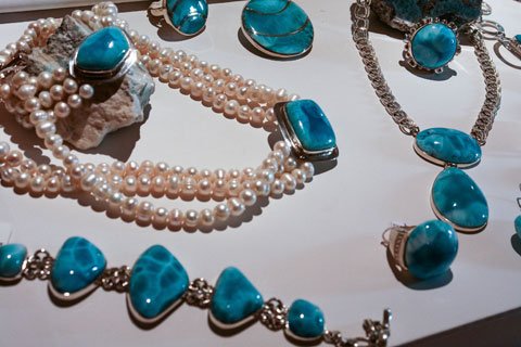 Bijoux Larimar collection 2012 Terrenas en Plata