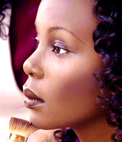 maquillage jour et simple peaux noires - YouTube