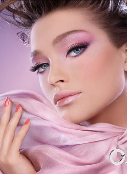 Tendance rose maquillage