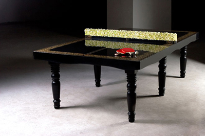 ping pong dining table. Black Bedroom Furniture Sets. Home Design Ideas