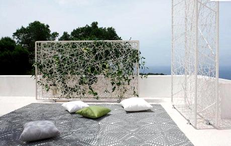 cloison s paration green dedon. Black Bedroom Furniture Sets. Home Design Ideas