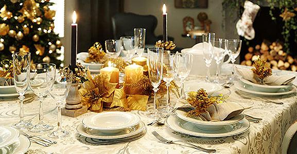 Decoration table noel for Decorar mesa navidad para cena